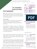 Kumpulan Soal, Jawaban dan Pembahasan UP UKM PPG 2019_2020 - Kelas Online.pdf