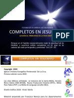 Completos en Jesucristo - Lec 01 - Col 1,1-2