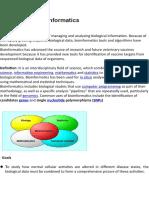 Bioinformatics & its Impact on medicine dicovery