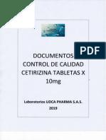 Control de calidad Cetirizina tabletas.pdf