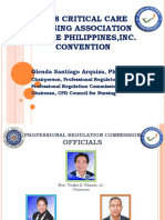 1. CRITICAL CARE NURSING OF THE  PHILIPPINES