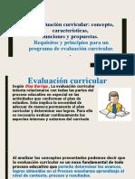 Evaluacion Curricular