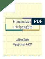 constructivismo y retos educativos - popayan