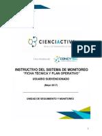 Instructivo Ficha Técnica - POP
