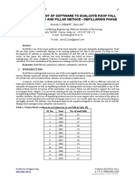 [GeoScience Engineering] Development Of Software To Evaluate Roof Fall Risk In Bord And Pillar Method - Depillaring Phase