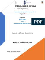 TAREA 3 TEMA 3- 1.3 UNIDAD 1 NEOCLASICO MONTAÑO INFANTE JOSE ARMANDO G-A3A