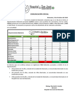 2020 10 9] Comunicación Oficial COVID 19