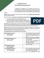 COMUNICADO 02 PARA RECUPERACIÒN DE CLASES