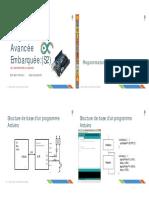 Programmation de la carte Arduino