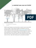 Consejos para construir una casa en el árbol