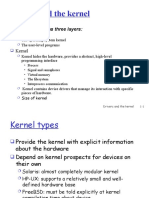 Drivers and the Kernel