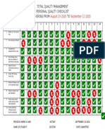 02 - Personal Quality Checklist Template (1)