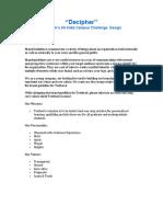 Decipher_Design Challenge.pdf