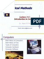 lec 3-4 intro to computers