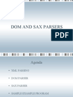 DOM and SAX Parsers