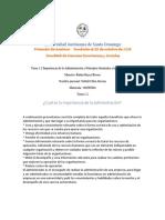 tarea1.2 Importancia de la administración y principios generales