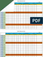Attandance Sheet
