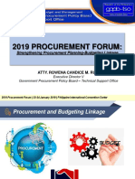I. Procurement Forum_Overview
