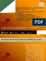 DIFERENTES PERSPECTIVAS DE LAS FUNCIONES DEL COORDINADOR DE SEGURIDAD Y SALUD