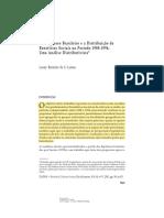 O Congresso Brasileiro e a Distribuição