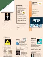 folleto bio seguridad