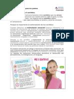 01 Material de apoyo para los padres Los 5 sentidos