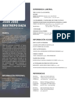 Hoja de vida PCA con documentos