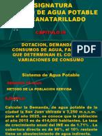 CLASE 06 DOTACION Y CONSUMO  PRACTICA 2020 II