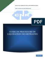 Guide de procédures de liquidation des retraites