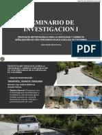 SEMINARIO DE INVESTIGACION I