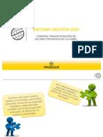 Presentacion calidad y ambiente Prosegur CASH 2020