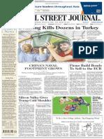 Wallstreetjournaleurope 20160822 the Wall Street Journal Europe
