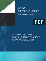 Digital Memory 3