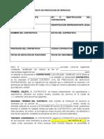 MODELO CONTRATO DE PRESTACION DE SERVICIOS.doc