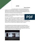 APURE Recursos Culturales, Tradiciones y Fiestas que Celebran de Gabriel Ramirez.doc