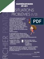 Fiche pédagogique - Problèmes mathématiques _ additions et soustraction