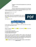 Memoria de calculo exclsuiva para SIPRA de planta Secol