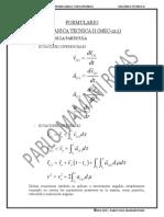 FORMULARIO MECANICA TECNICA II (MEC-213)
