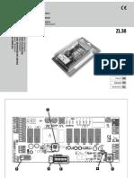 GR-CAME-Operaciones de equipos ZL38