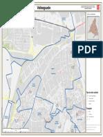 Mapa de la Zóna Básica de Salud de Valleaguado, Coslada