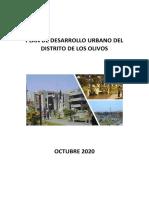 PLAN DE DESARROLLO URBANO DEL DISTRITO DE LOS OLIVOS