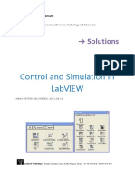Solutions - Control and Simulation in LabVIEW