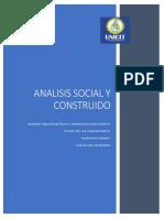 analisis social y construido