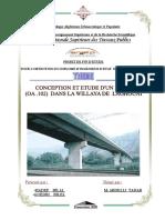 Conception et étude d-_un pont