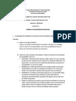 Bioética y Consentimiento Informado, Actividades y Recursos, SAP-115, Unidad No. 1 (1) Francis Montero.docx