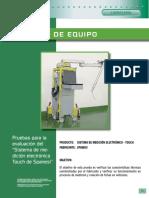 Sistema de medicion electronico Touch Spanesi