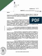 Decreto 1071/20 de Santa Fe
