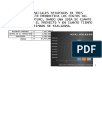 Diccionario de datos.