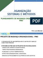 AULA  7 - Projeto para mudança organizacional