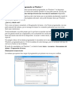 3.3. Herramienta Tareas programadas en Windows 7